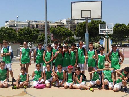 Varios equipos de la Axarquía, en las finales de la Liga Educativa de baloncesto