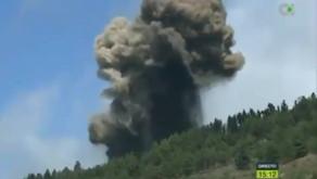 Urgente: El volcán de la isla de La Palma entra en erupción