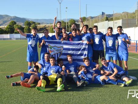 El juvenil del Algarrobo, campeón de liga