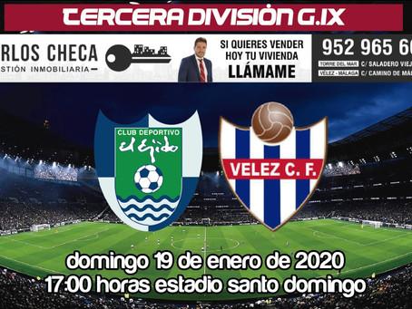 El Vélez visita el municipal de Santo Domingo para medirse al Ejido 2012