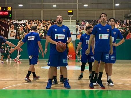 Derrota en Los Guindos del UD Torre del Mar de baloncesto (94-48)