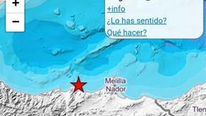 Última hora: Un terremoto de magnitud 4.1 hace temblar la tierra en la Axarquía
