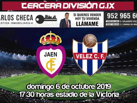 El Vélez vuelve a la realidad de la liga y se mide al Real Jaén (Dom.17:30 horas)