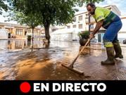 Última hora: Elevan a 70 litros en 12 horas la previsión de precipitaciones en la Axarquía