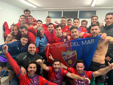 Emilio Guerra da la victoria al Torre del Mar ante el Marbella (1-0)