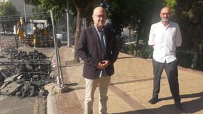 Inician los trabajos para evitar inundaciones en la zona del Real Bajo de Vélez-Málaga
