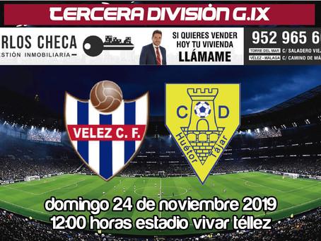 Al Vélez sólo le vale la victoria este domingo ante el Huétor Tájar (Dom. 12:00h)