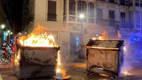 Detenido en la Axarquía un presunto pirómano que incendió una decena de contenedores