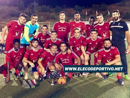 Antonio Alejandro le da el triunfo al Torrox en el Trofeo 'San Roque' (2-0)