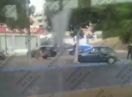 Accidente en Torre del Mar: Un coche se empotra contra un árbol en Cuesta del Visillo