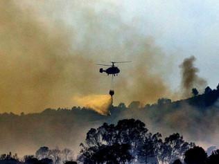 Urgente: Ordenan el confinamiento de varios pueblos de Málaga por el incendio de Sierra Bermeja