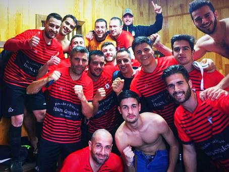Un gol de Jairo le da la victoria al Totalán ante Los Compadres (0-1)
