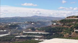 Extinguido un incendio declarado en Vélez-Málaga