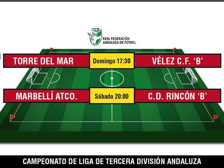 El derbi local entre Torre del Mar y Vélez B marca la jornada de Tercera Andaluza
