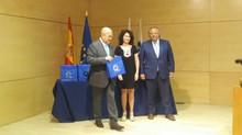 La playa de Torre del Mar ilustra la X Entrega de Banderas Q de Calidad Turística celebrada en Madri