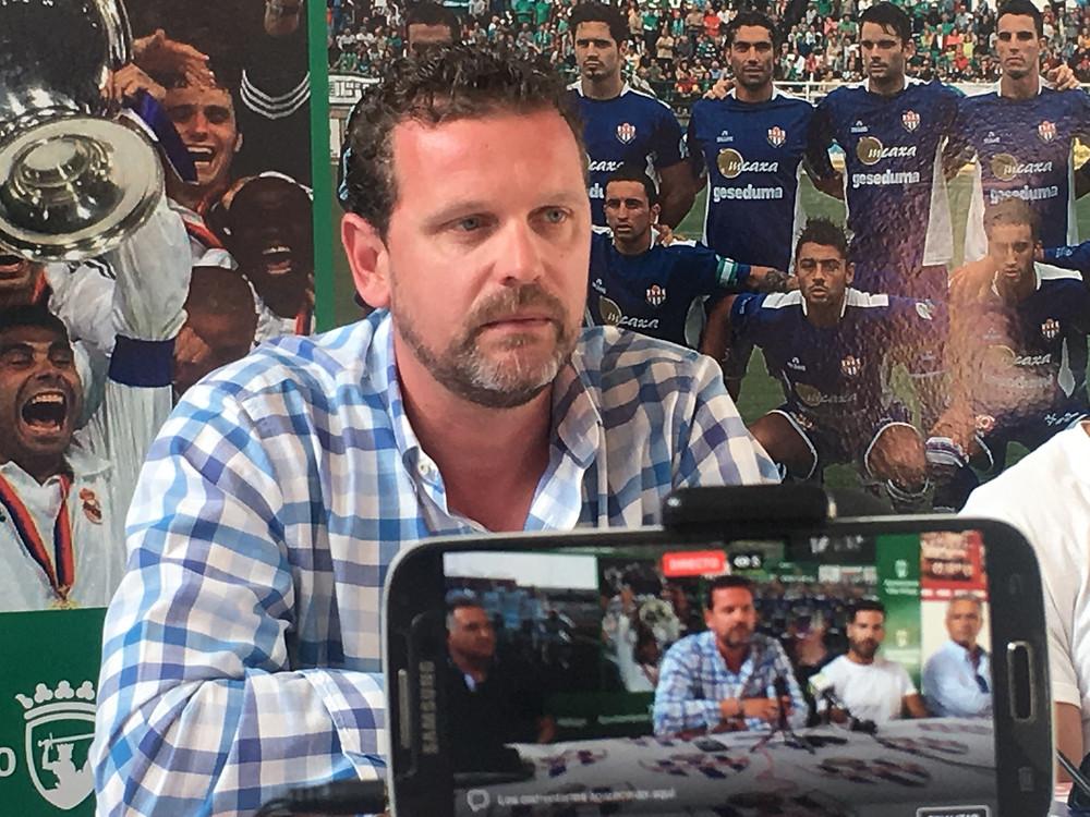 Alejandro Kommans presidente del Vélez Club de Fútbol