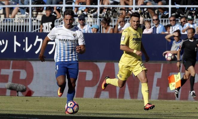 Málaga Villarreal en la Rosaleda
