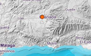 Última hora: Una nueva réplica de magnitud 3.3 hace temblar la tierra en Granada