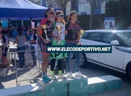 La torreña Marta López, ganadora senior del duatlón de Marbella