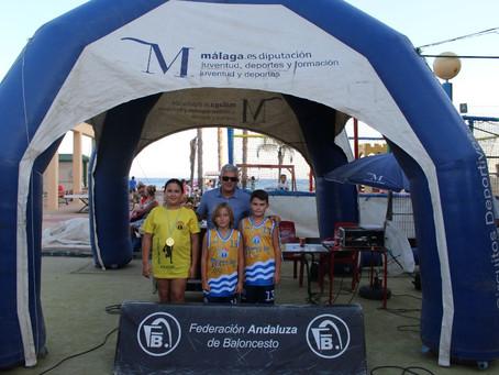 Algarrobo disfrutó con el Circuito Provincial de Baloncesto 3x3