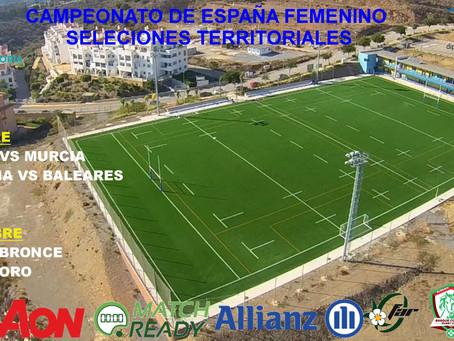 Rugby | Rincón acoge un torneo nacional de rugby femenino con selecciones territoriales