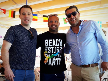 Adrián Domínguez, Rafa Núñez y Bautista, cuerpo técnico en el CD Torrox