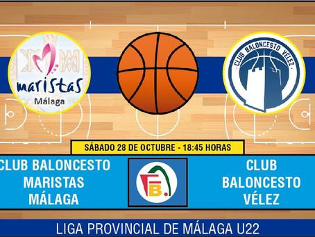 El sub22 del CB Vélez debuta este sábado en la cancha malagueña de Maristas