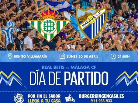 Previa del Betis-Málaga