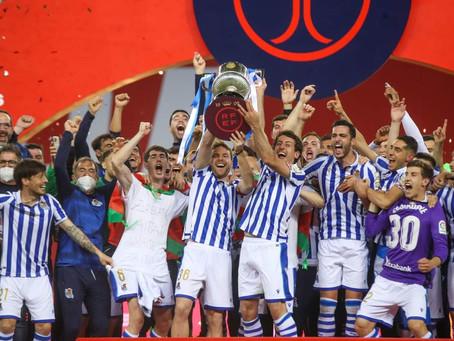 La Real Sociedad gana la Copa del Rey en una final decidida de penalti (0-1)