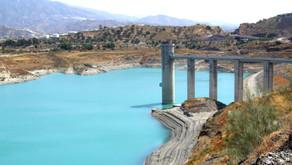 """El pantano de la Viñuela arranca el año hidrológico en un """"escenario grave de escasez"""""""