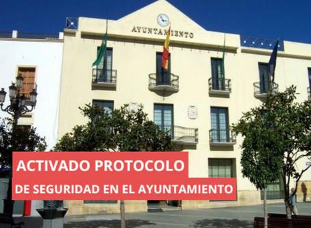 Vélez-Málaga activa el protocolo de seguridad por un positivo en el Ayuntamiento