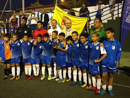 El Puerto Malagueño, vencedor del torneo de fútbol 7 de la Escuela de Fútbol de Torre del Mar