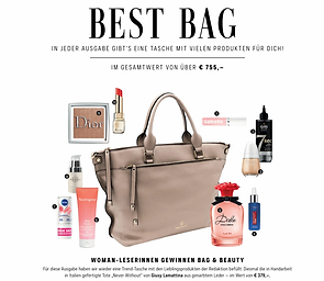 Giusy Lamattina Never Without Tote Bag in Taupe aus Leder Best Bag of the season