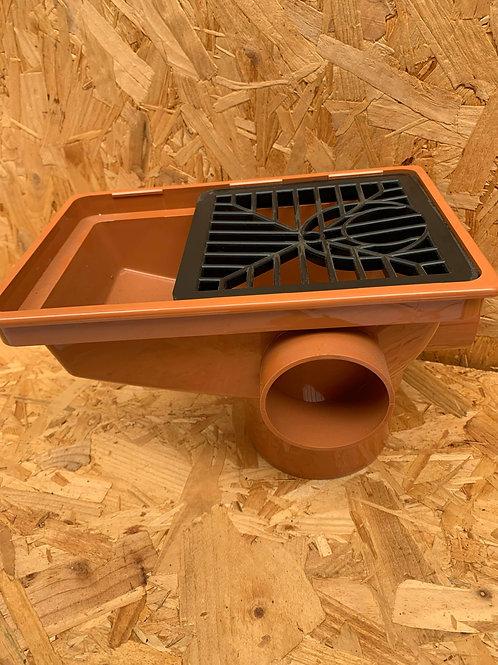 Rectangular Hopper including Polypropylene Grid