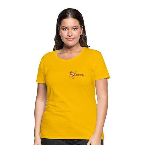 T-shirt Premium Femme - MisterDarras