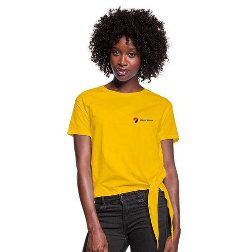 T-shirt à nœud Femme - Mister Darras