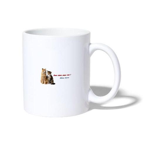 Mug blanc Chats - Mister Darras