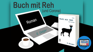 Buch mit Reh (und Corona)