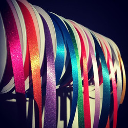 The grooming ribbons glistening in the morning sun, good morning indeed! #grooming #lovingwhatyoudo
