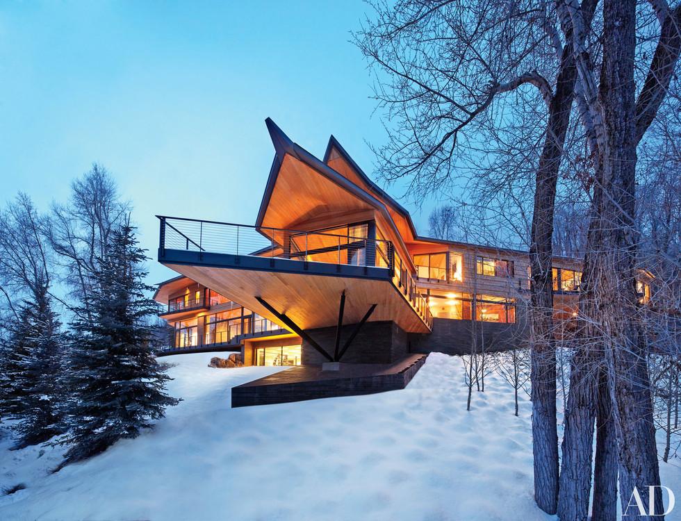 THE DREAM // PETER MARINO'S SKI HOUSE