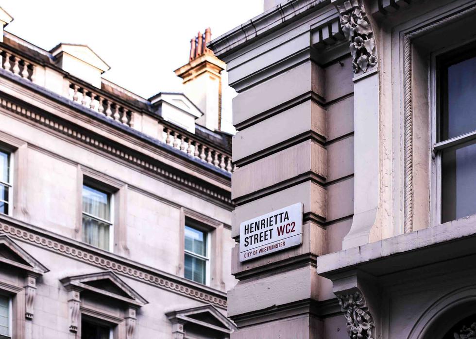 THE SPOT // THE HENRIETTA HOTEL, LONDON