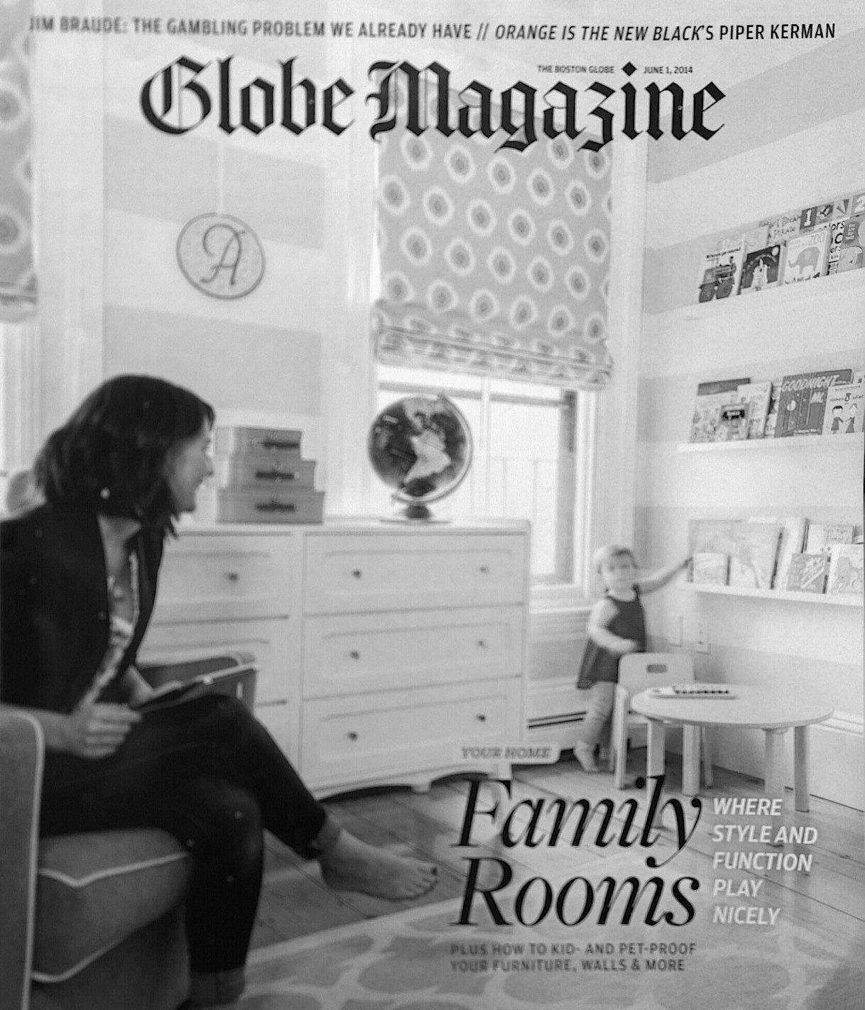 Boston Globe Magazine June 2014