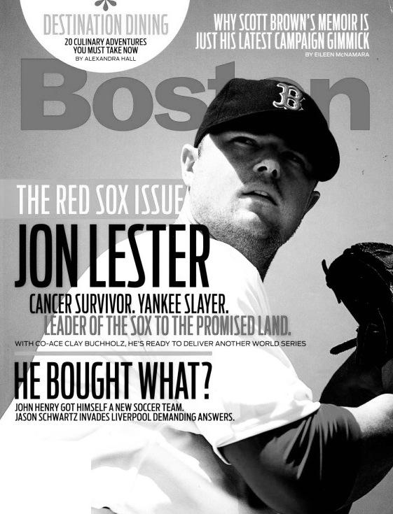 Boston Magazine April 2011