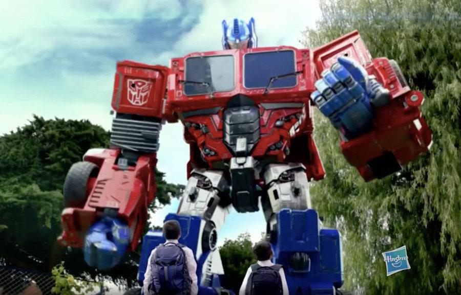 Comercial Hasbro - Transformers