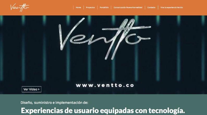 Website Ventto