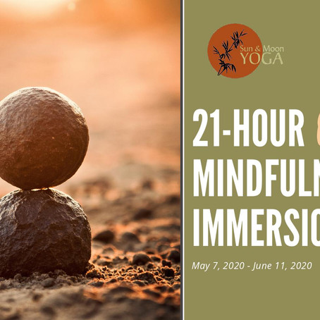 Available Online! 21-hour Mindfulness Immersion with Leza Lowitz / 21時間マインドフルネス集中コース