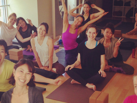 Savvy Tokyo Article About Sun and Moon Yoga