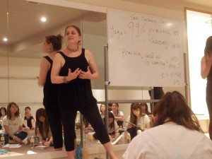 Step up Your Yoga Teaching Skills: The Magic of Good Teacher with Leza Lowitz