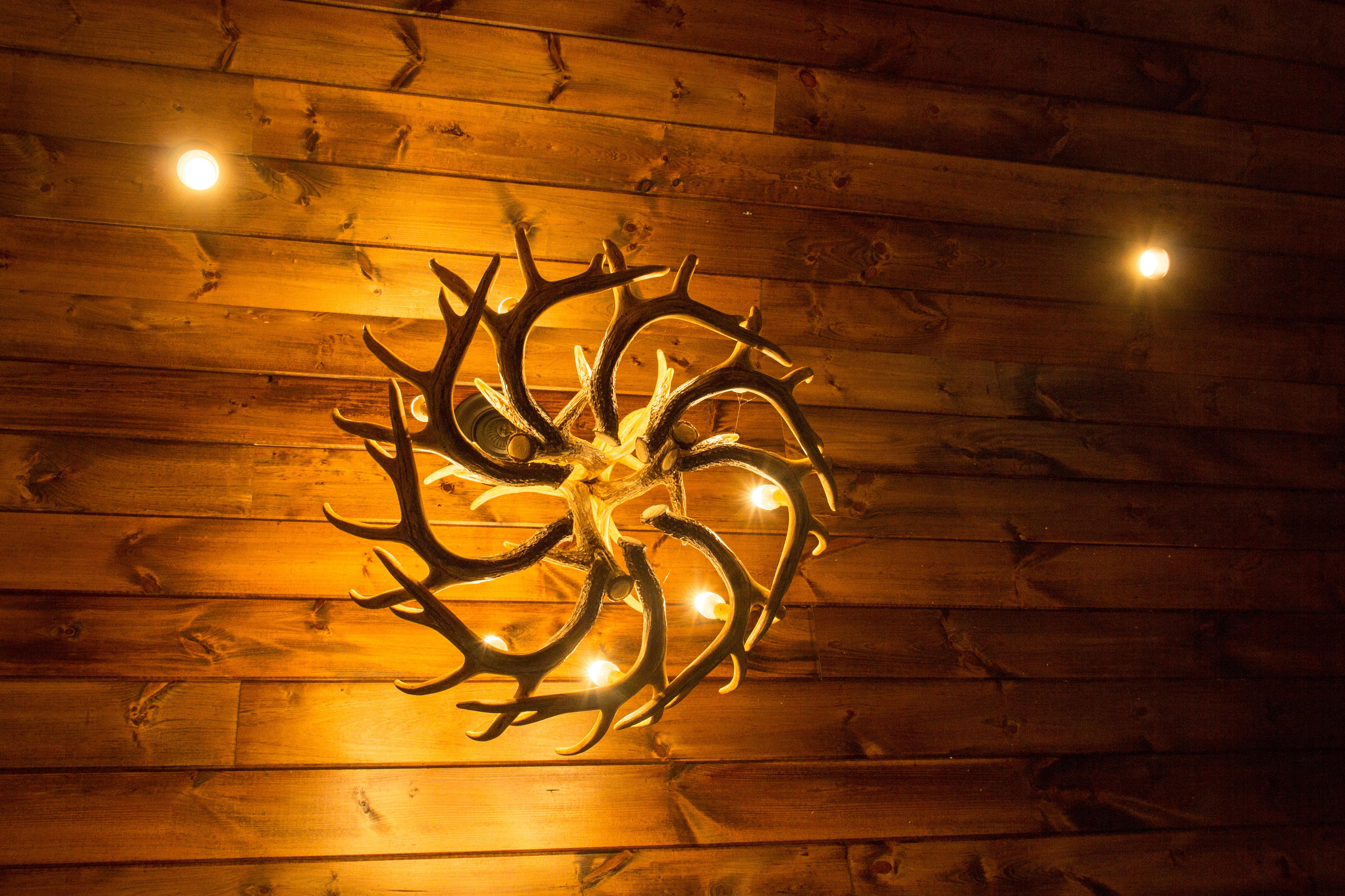 Beautiful custom lighting