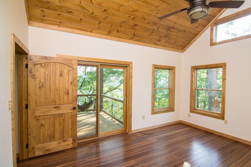 Bedroom door to deck